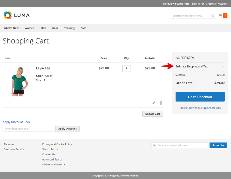 Optimizing The Magento 2 Shopping Cart
